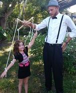 Marionette & Puppeteer Homemade Costume