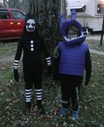 Marionette & Withered Bonnie Homemade Costume