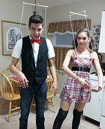 Coolest couples Halloween costumes - Marionette Puppets Costume