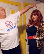 Married with Children Homemade Costume