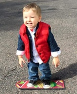 Back to the Future Marty McFly Baby Costume