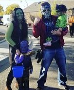 Marvel Family Homemade Costume