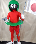 Marvin the Martian Costume DIY