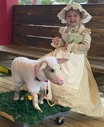 Mary had a Little Lamb named Chelsea Homemade Costume