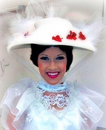 Homemade Mary Poppins Costume