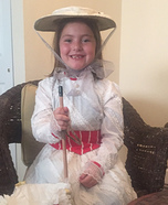 Mary Poppins Girl's Halloween Costume