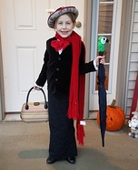 Mary Poppins Girl's Costume