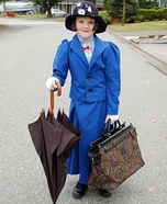 Halloween costume ideas for girls: Mary Poppins Costume for Girls