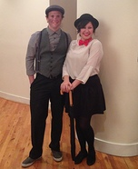Mary Poppins and the Chimney Sweep Costume