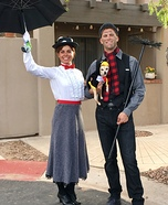 Mary Poppins, Bert and the Penguin Homemade Costume