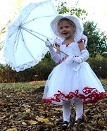 Mary Poppins Baby Costume