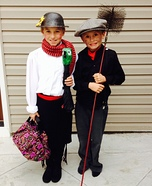 Mary Poppins & Bert Homemade Costume