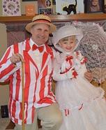 Mary Poppins & Bert Halloween Costume