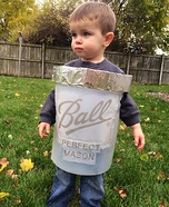 DIY baby costume ideas: Mason Jar Costume