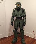 Homemade Master Chief Costume
