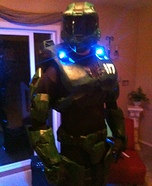 Master Chief Mark IV Homemade Costume