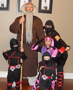Master Luke and his Ninjas Homemade Costume