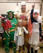 Masters of the Universe Homemade Costume