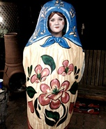 DIY Matryoshka Costume