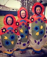 Matryoshka Dolls Homemade Costume
