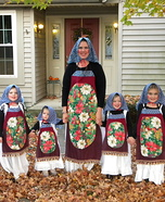 Matryoshka Nesting Dolls Homemade Costume
