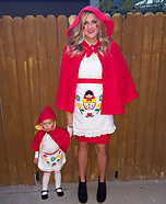 Matryoshka Russian Nesting Dolls Homemade Costume
