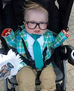 Matt Foley Motivational Speaker Baby Homemade Costume