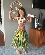 Maui the Demi God Homemade Costume