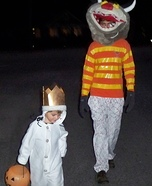 Max and The Wild Thing Costumes