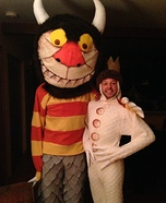 Max and The Monster Couple Homemade Costume