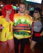 Hamburglar, Ronald and Burger Costume