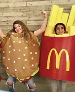 McDonald's Homemade Costume