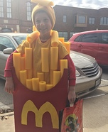 McDonald's French Fries Homemade Costume