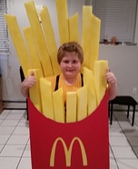 McDonald's Fries Homemade Costume