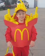 McDonalds Fries Homemade Costume