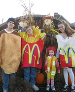 Family costume ideas - McDonalds's Crew