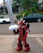 Mech Samurai Warrior Costume