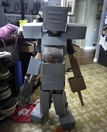 Mech Suit Homemade Costume