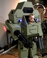 Mech Warrior Homemade Costume