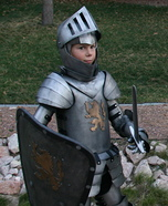 Medieval Knight Homemade Costume