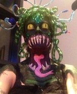 Scary Halloween costume ideas - DIY Medusa Costume