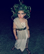 Homemade Medusa Costume