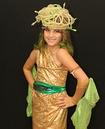 Child's DIY Medusa Costume
