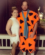 Meet the Flintstones Homemade Costume