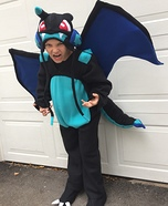 Mega Charizard X Homemade Costume