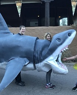 Megaladon Shark Homemade Costume
