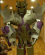 Homemade Megatron Costume