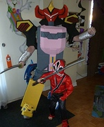 Megazord Homemade Costume
