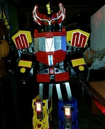 Megazord and Pink Ranger Homemade Costume