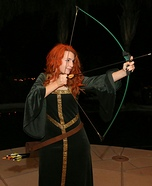 Merida from Brave Homemade Costume